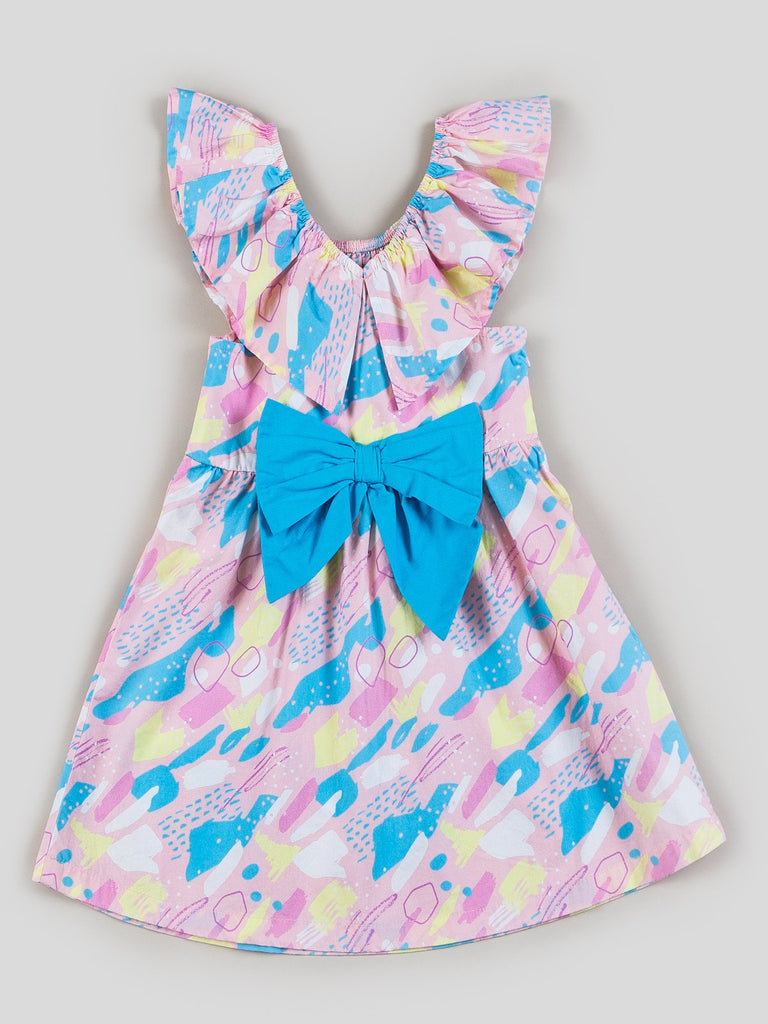printed dress for girls