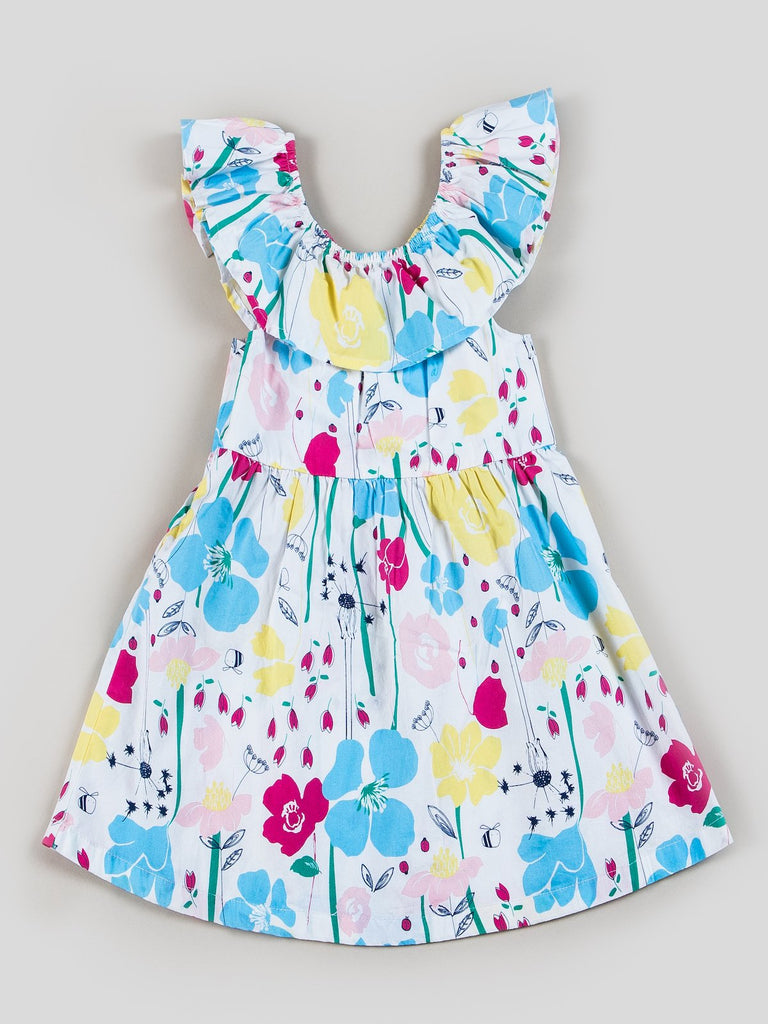 girls printed dresses
