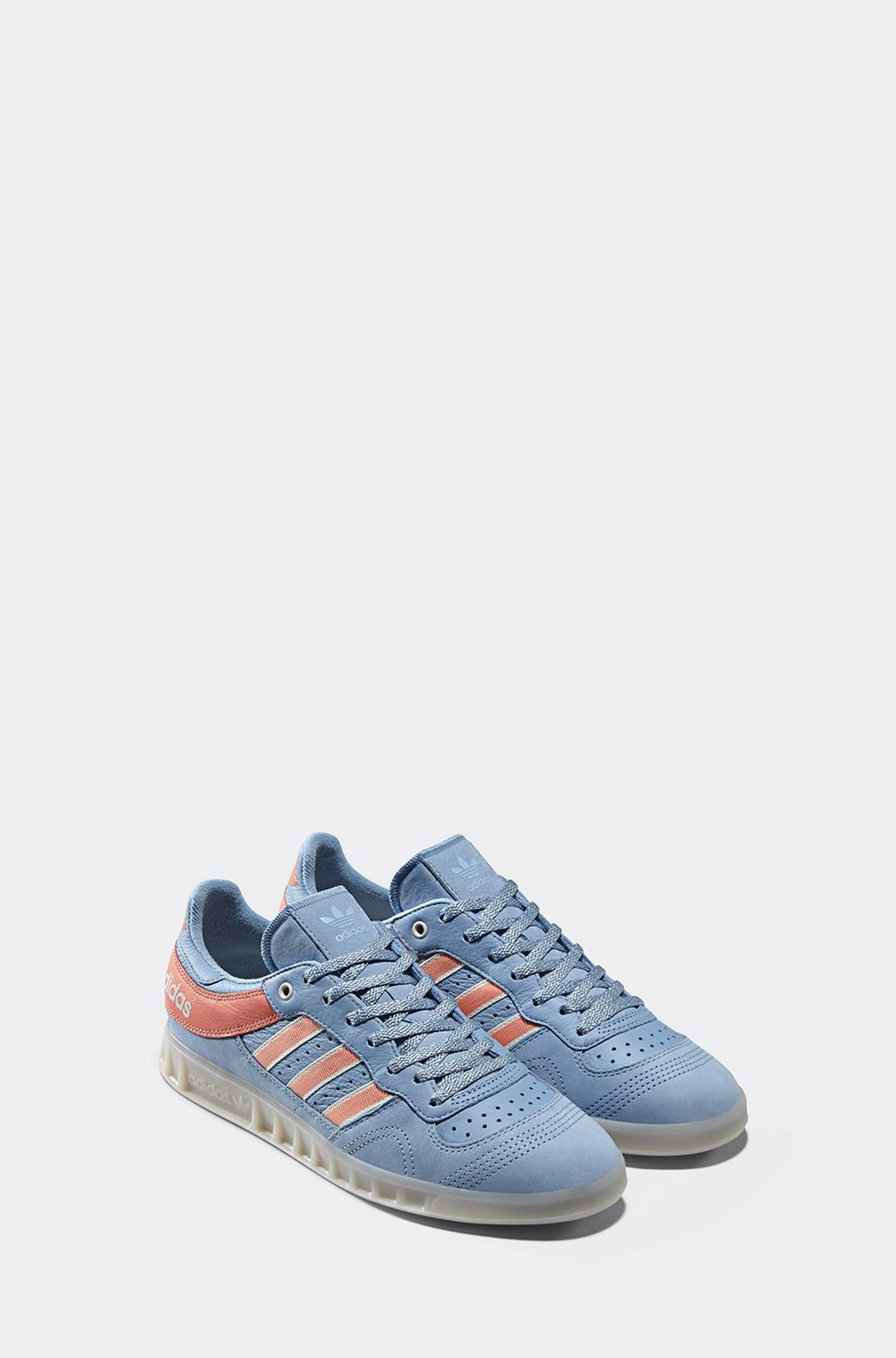 designer fashion bc8be 6698d Adidas X Oyster Handball Top Sneaker (Ash Blue)