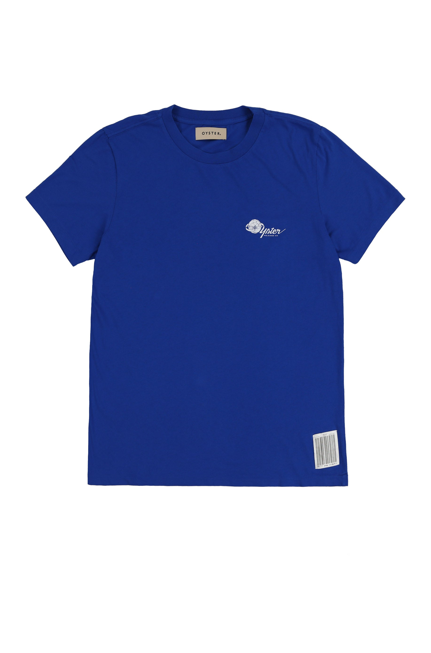 OYSTER AIRLINES CDG TEE (ROYAL BLUE)
