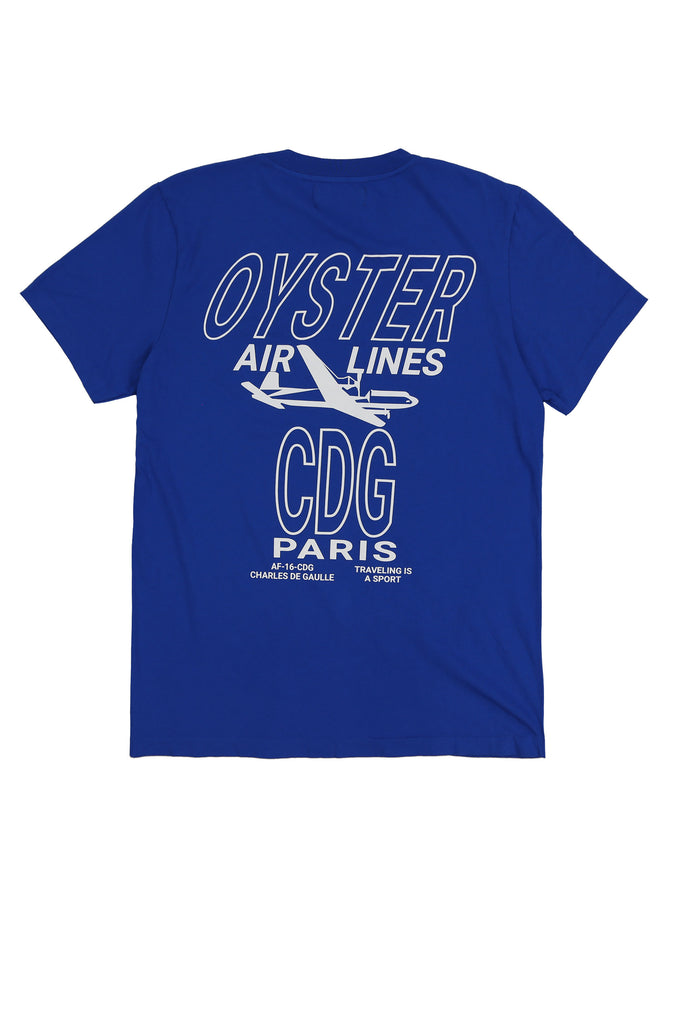 OYSTERAIRLINESCDGTEE(ROYALBLUE)
