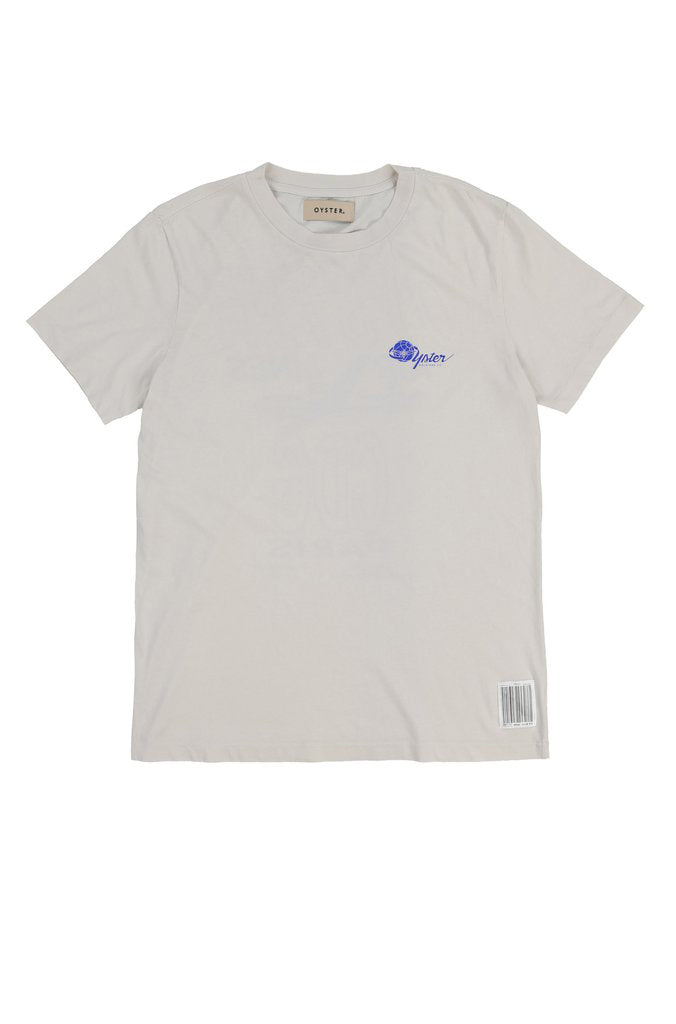 OYSTER AIRLINES CDG TEE (VINTAGE WHITE)