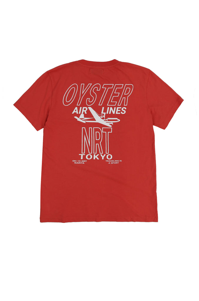 OYSTERAIRLINESNRTTEE(RED)