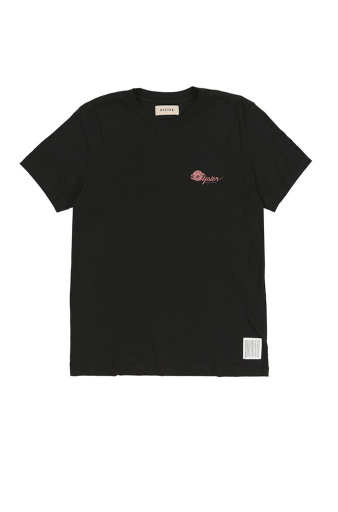 OYSTER AIRLINES LAX TEE (BLACK)
