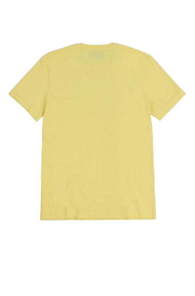 OYSTER NECK LAYERING TEE (YELLOW)