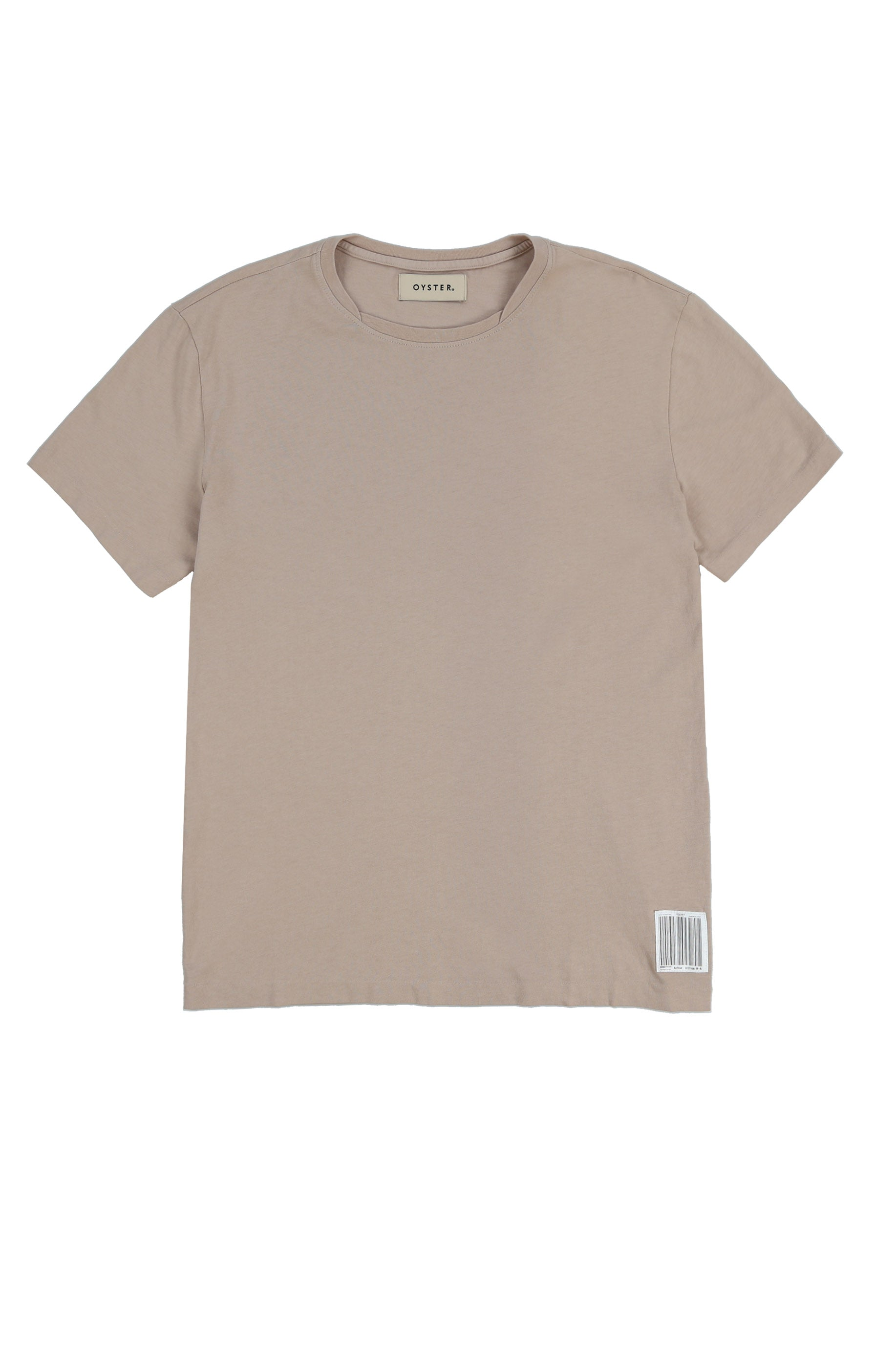 OYSTER NECK LAYERING TEE (NUDE)