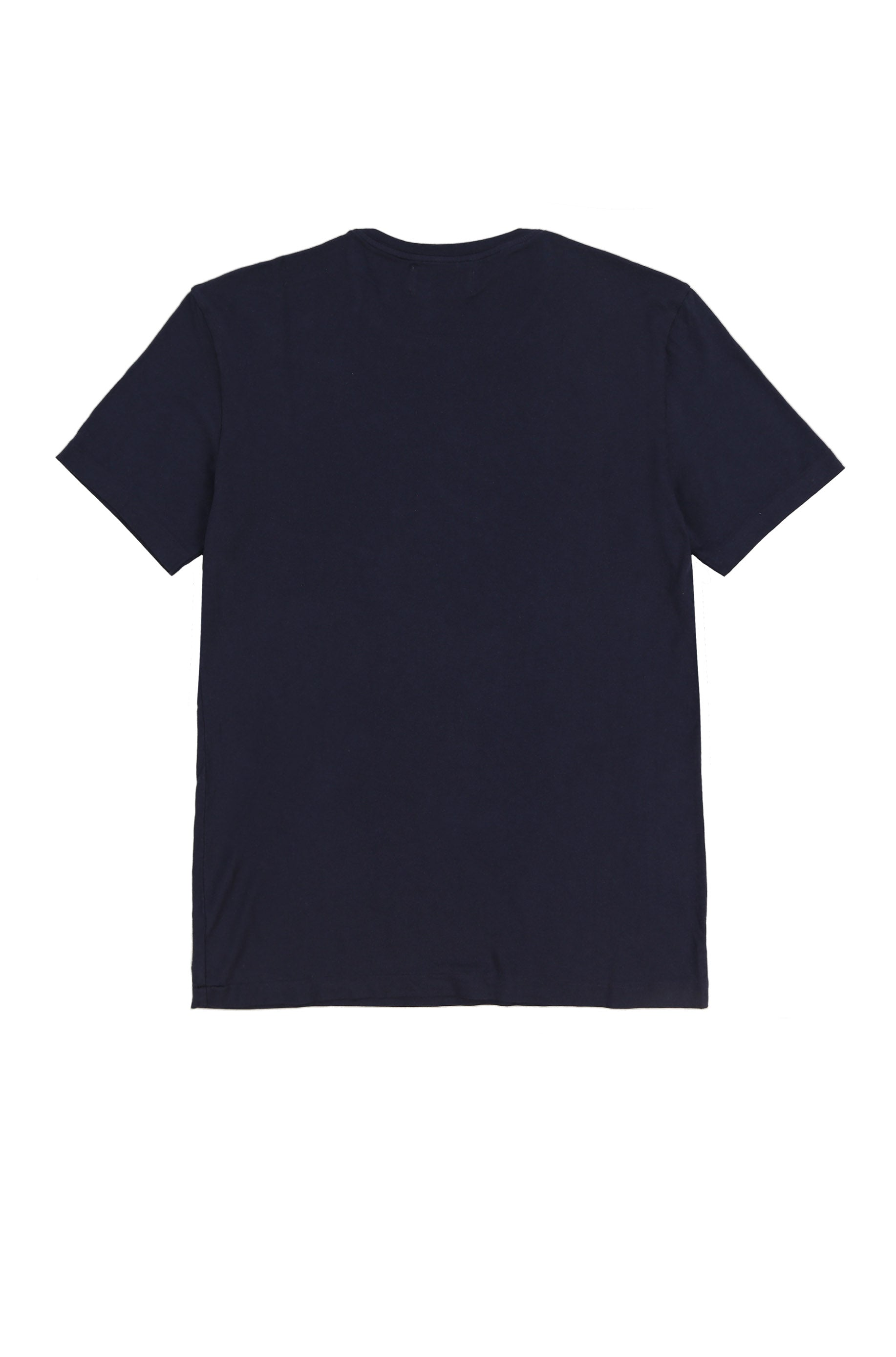 OYSTER NECK LAYERING TEE (NAVY)
