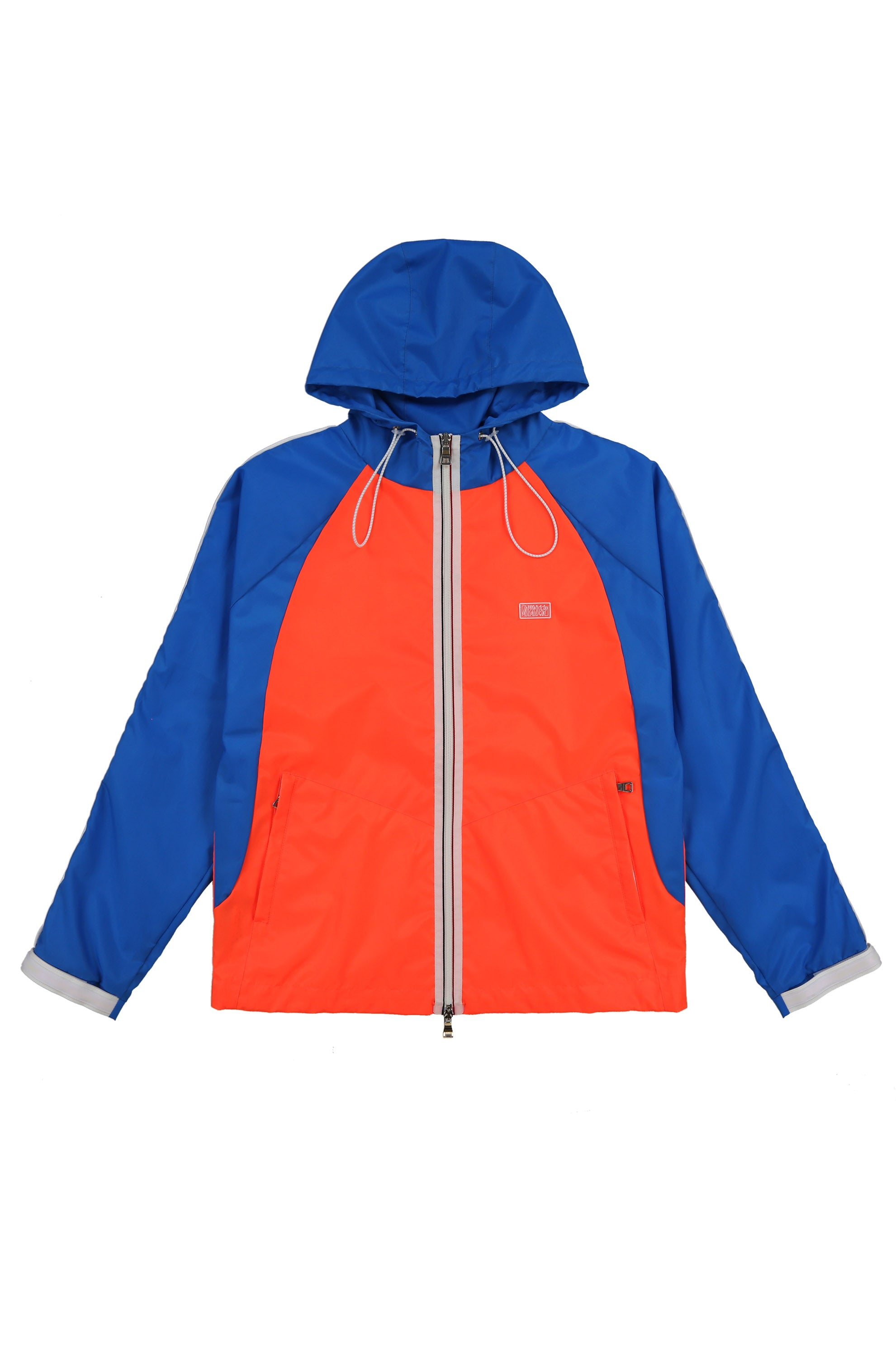 MIA Windbreaker (Electric Blue/ Neon Orange)