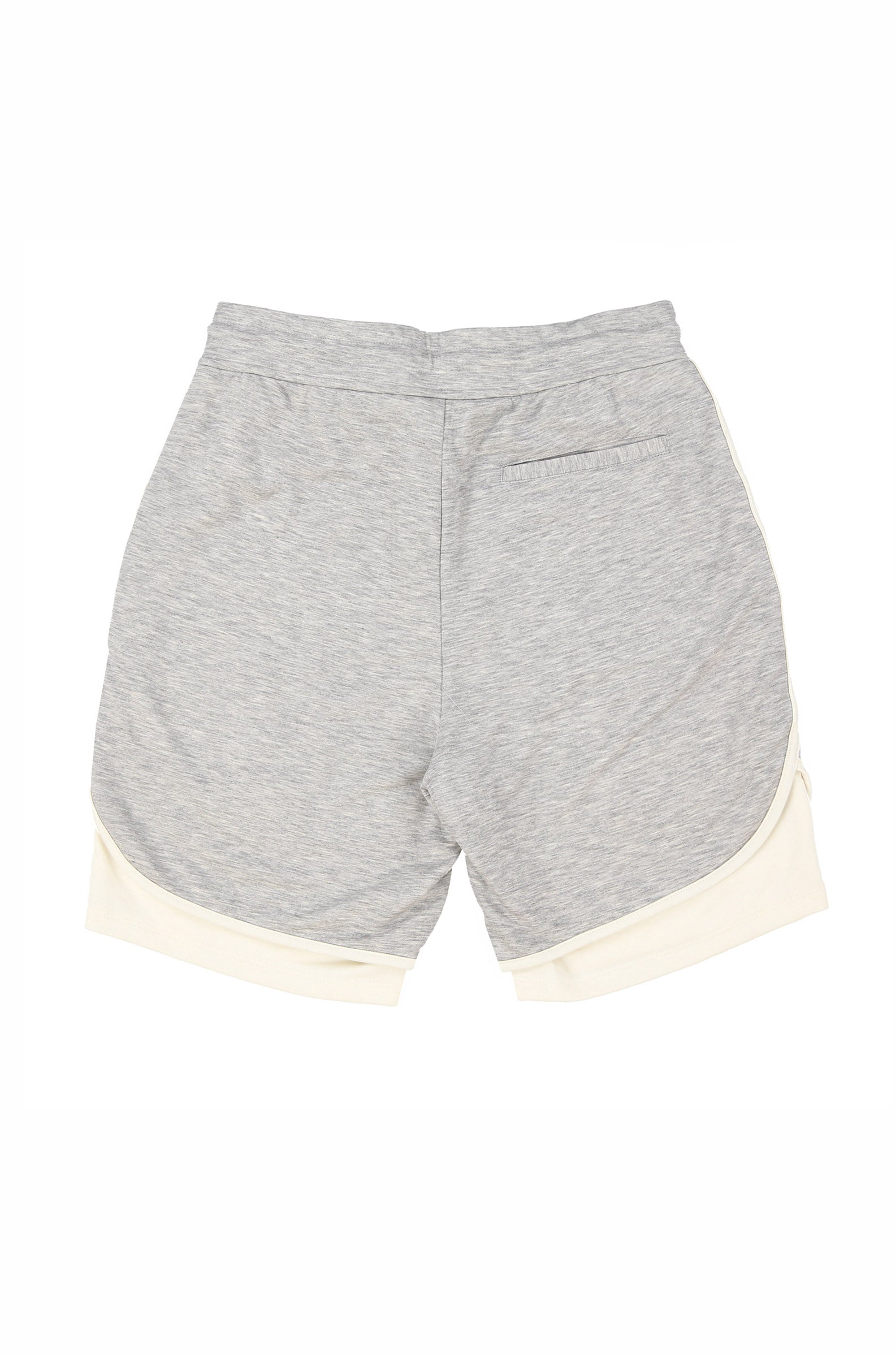FLUSHING MEADOWS SHORTS (GREY MELANGE)