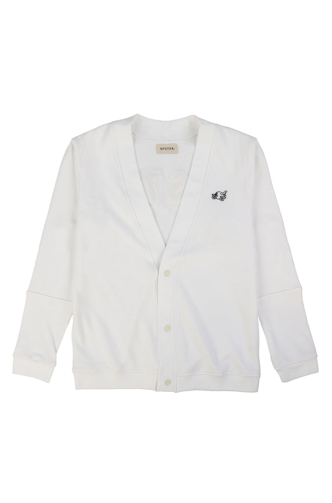 CHENILLECARDIGAN(WHITE/MULTI)