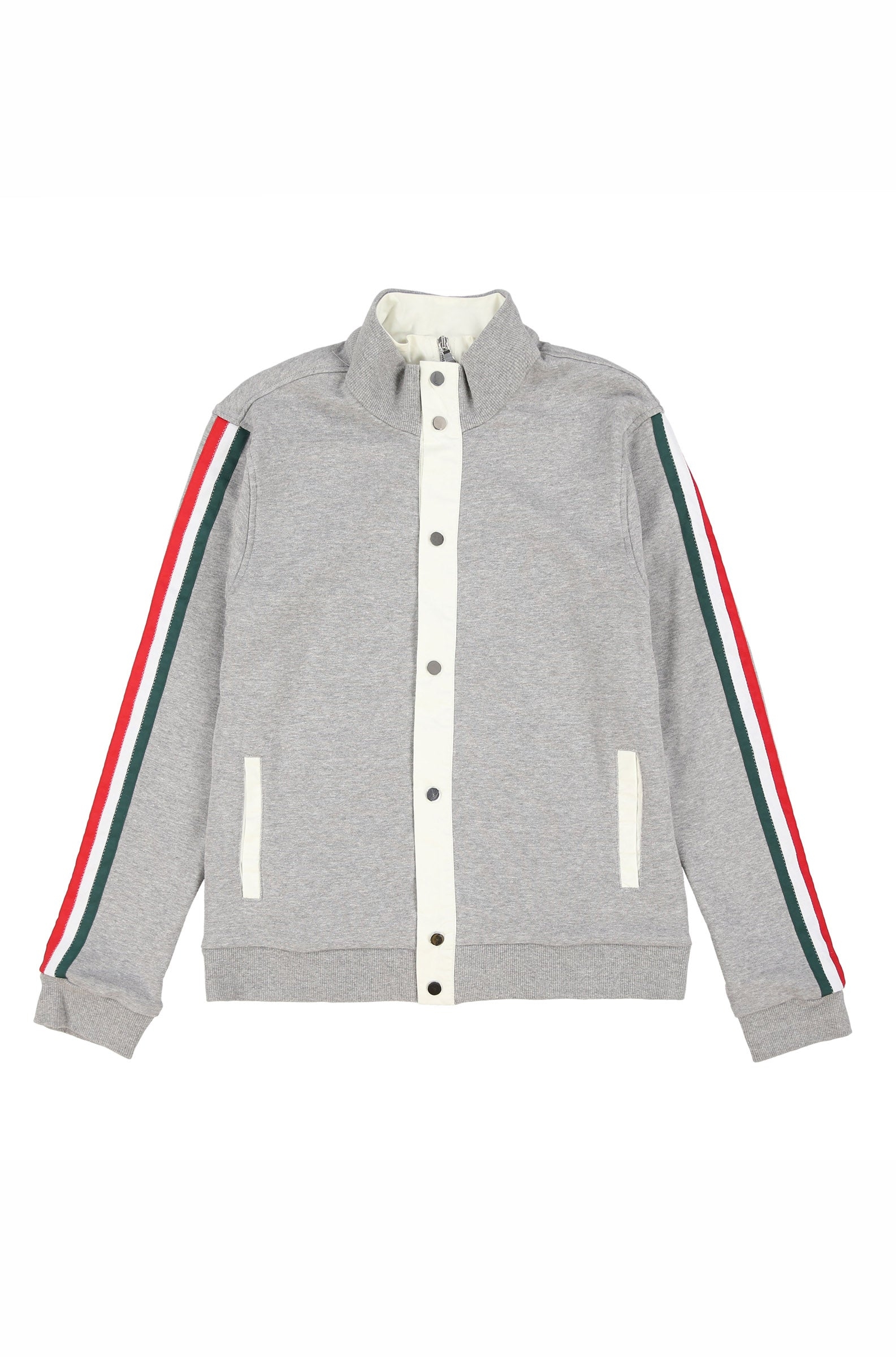 JOMO DOUBLE TRACK JACKET (HEATHER GREY)