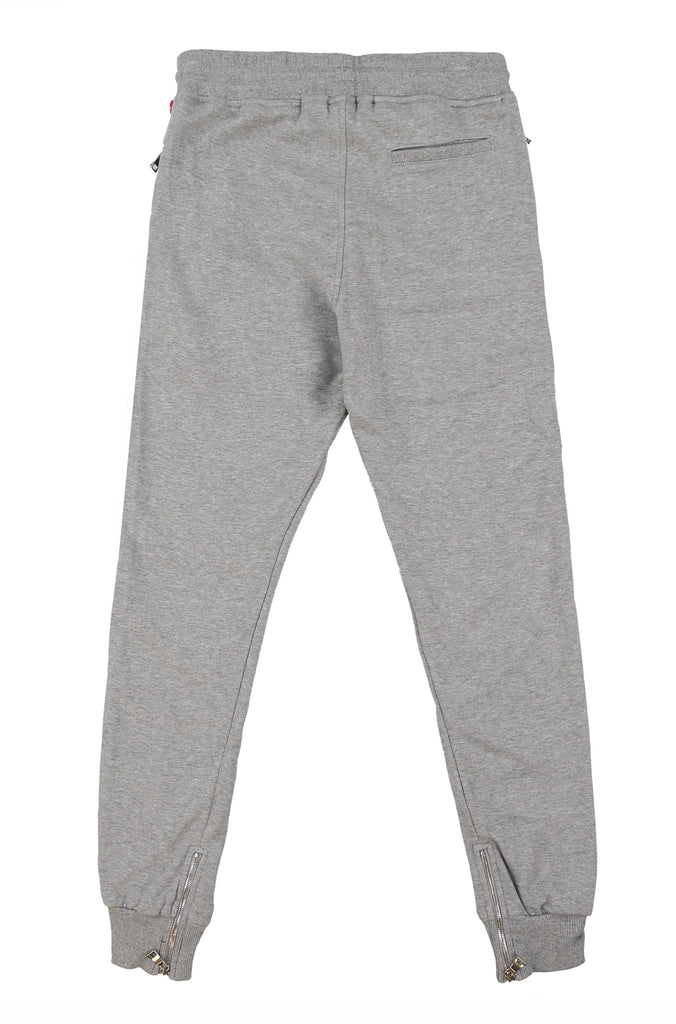 JOMOTRACKPANT(HEATHERGREY)