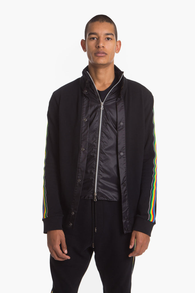 JOMODOUBLETRACKJACKET(BLACK)