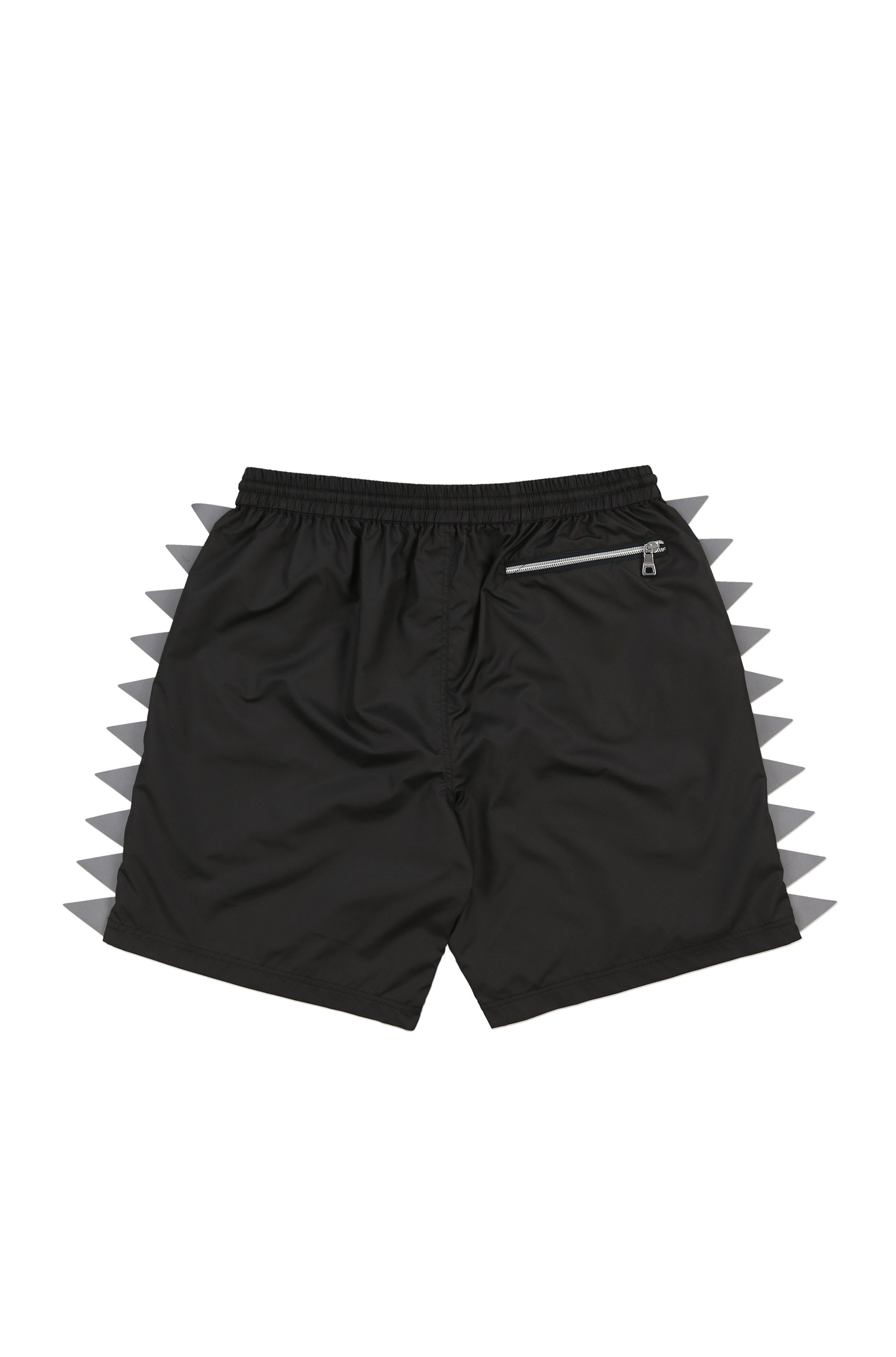 Oyster Pennant Flag Short (Black)