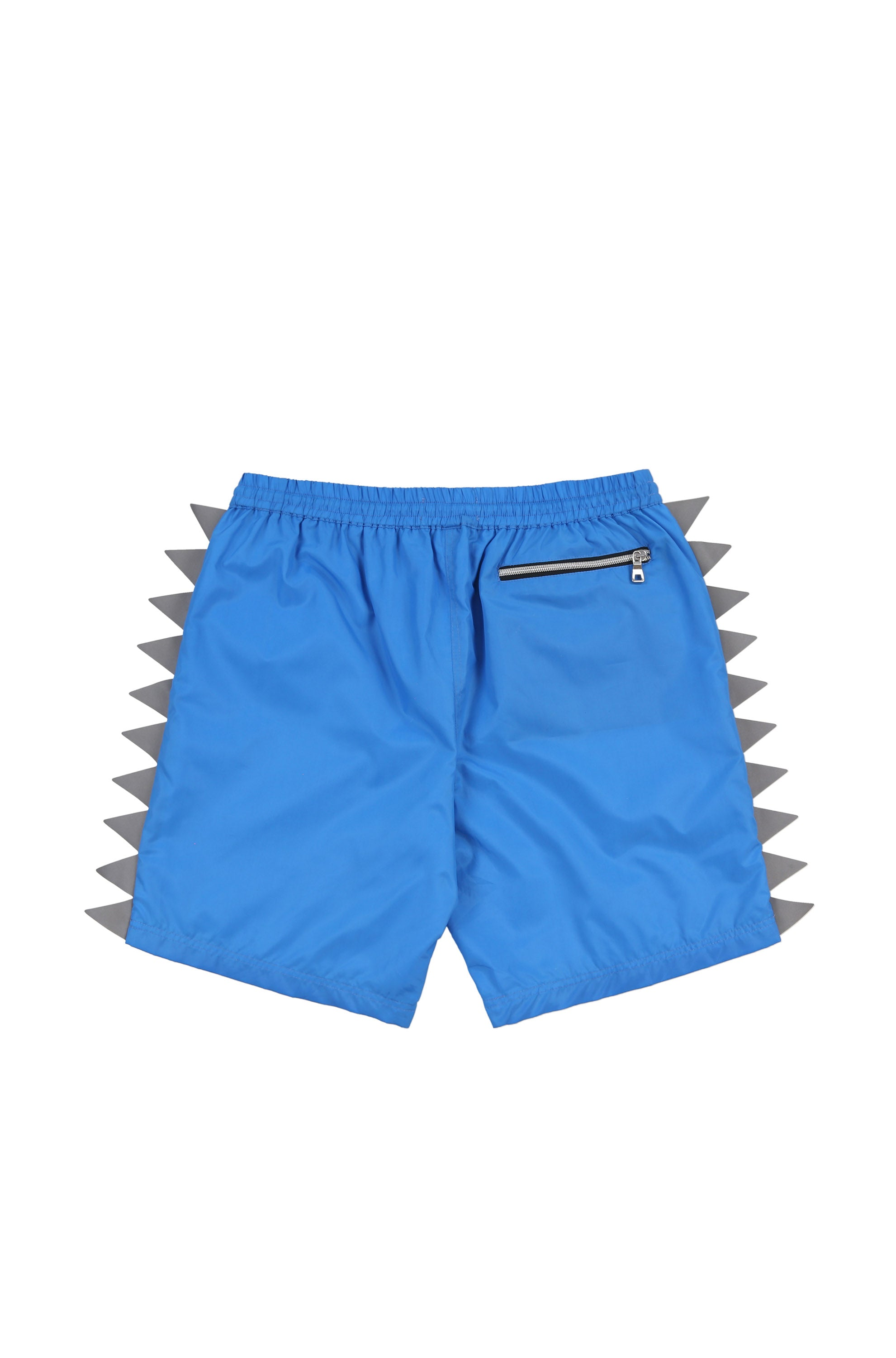 Oyster Pennant Flag Short (Neon Blue)