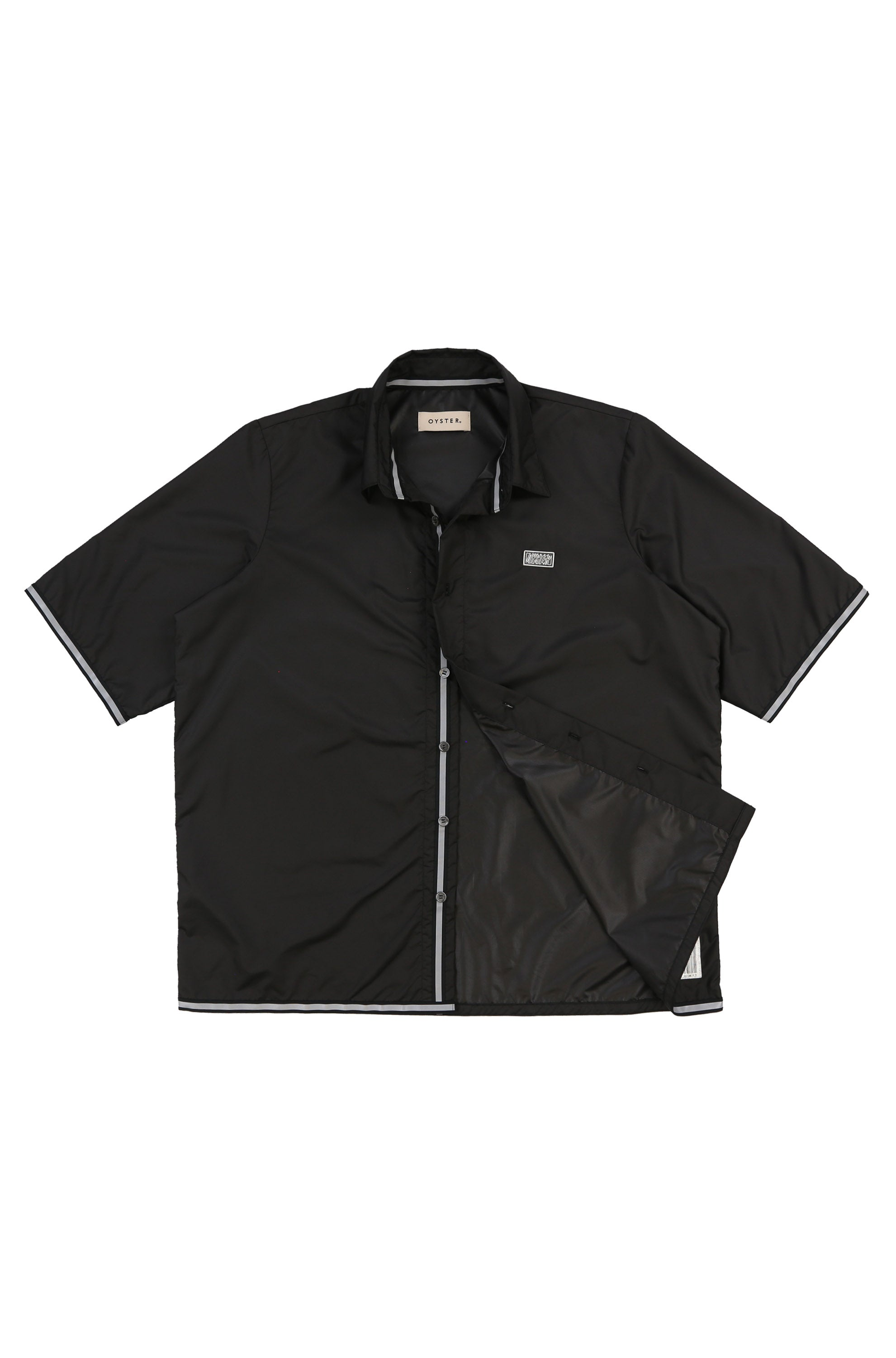 Sportsman SS Button Up (Black)