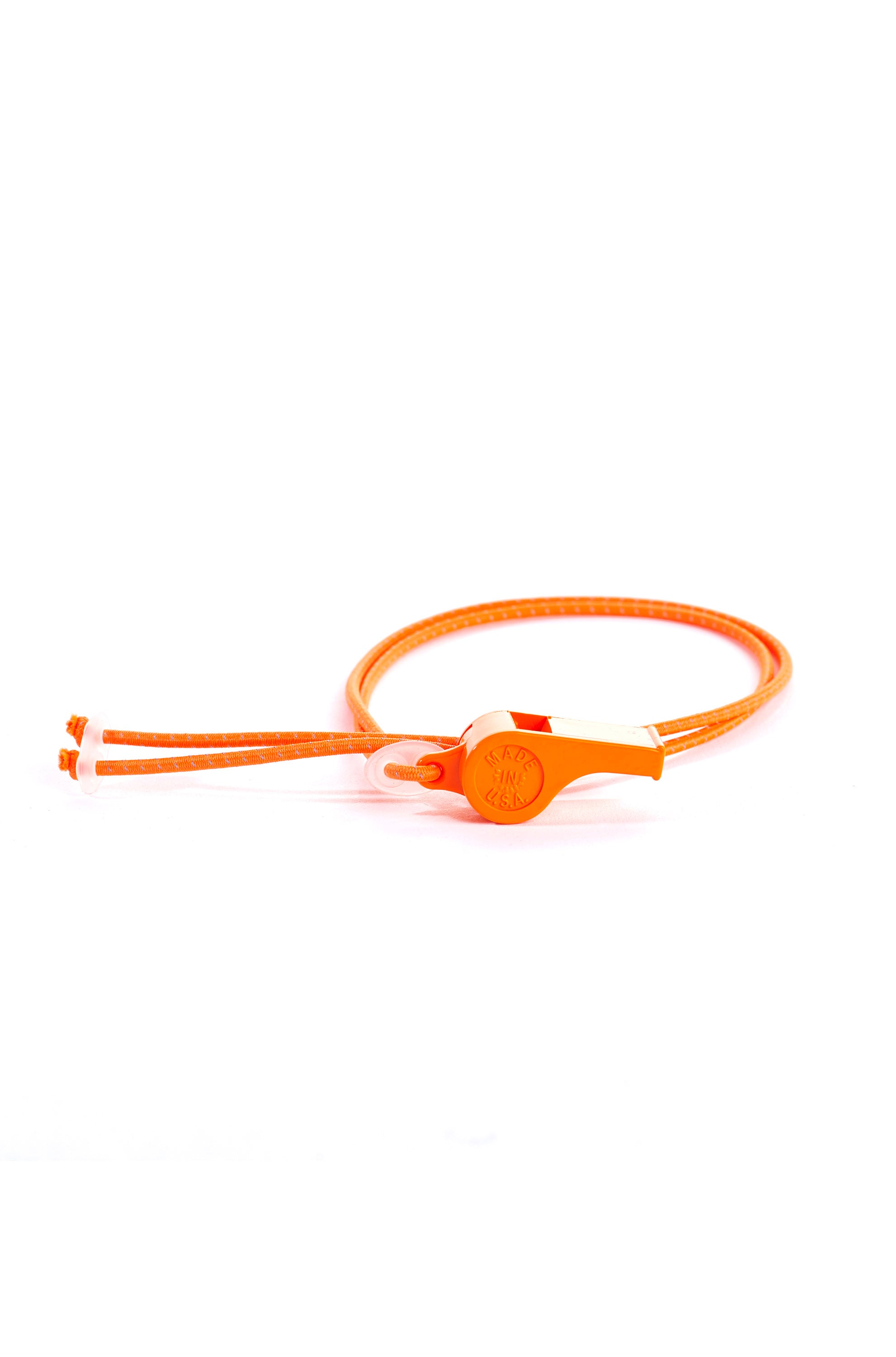 TRAVEL WHISTLE (NEON ORANGE)