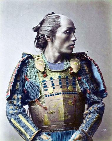 Exquisite Colourised Photos of 1800 Samurai
