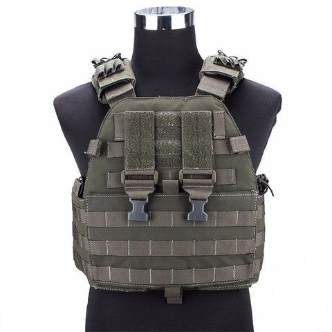 EG SPORTS ASSAULT PLATE CARRIER TACTICAL VEST