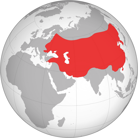 Mongol Empire Greatest Extent