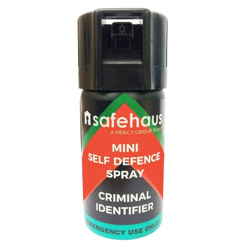 Safehaus Mini Self Defence Spray Criminal Identifier