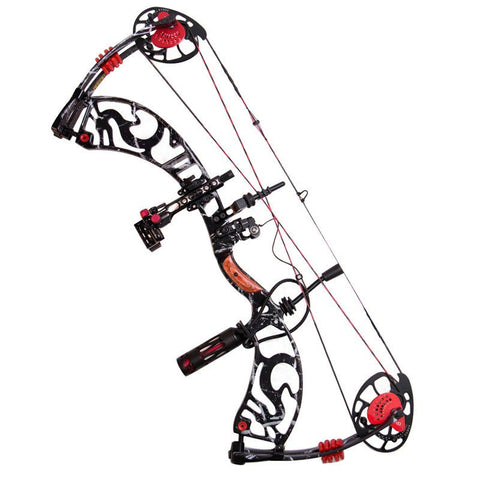 TopArchery D690 Compound Bow 30-60lbs Draw Weight with Spincast