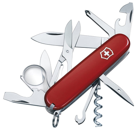 Victorinox Explorer Army Knife - Red