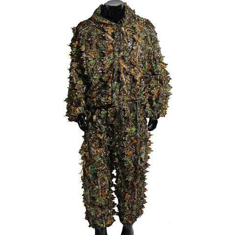Woodland Sniper Ghillie Suit