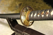 Golden Tiger Elite Clay Tempered Katana Samurai Sword - BladesPro UK