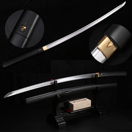 Shinpuru Carbon Steel Katana Samurai Sword - BladesPro UK