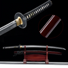 Akai Nendo Clay Tempered Katana Samurai Sword - BladesPro UK