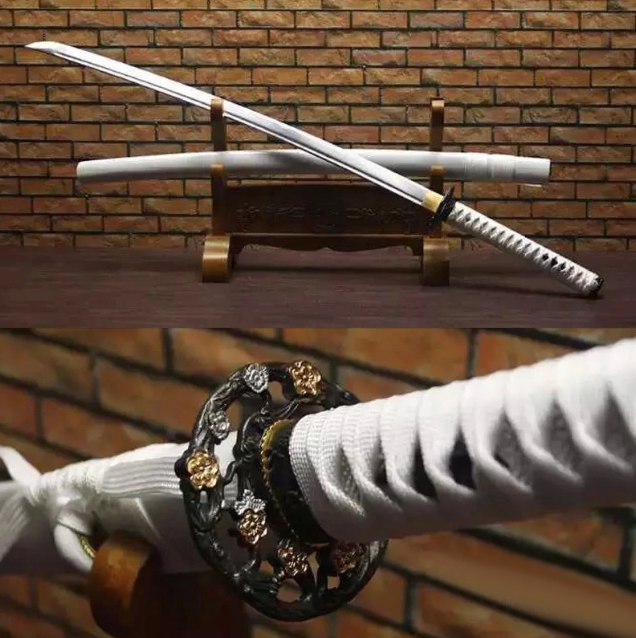 Shiroi Katana Samurai Sword - BladesPro UK