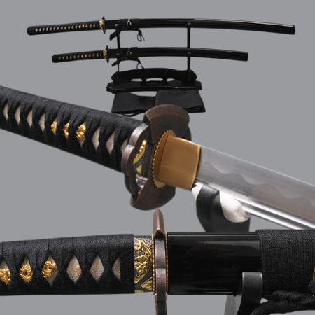 Artyom Carbon Steel Samurai Sword Set - BladesPro UK