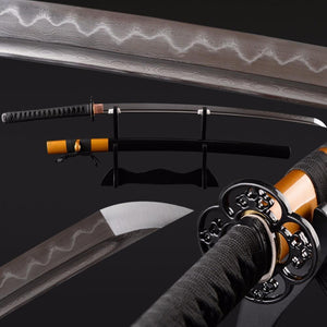 Atid Folded Clay Tempered Steel Katana Samurai Sword