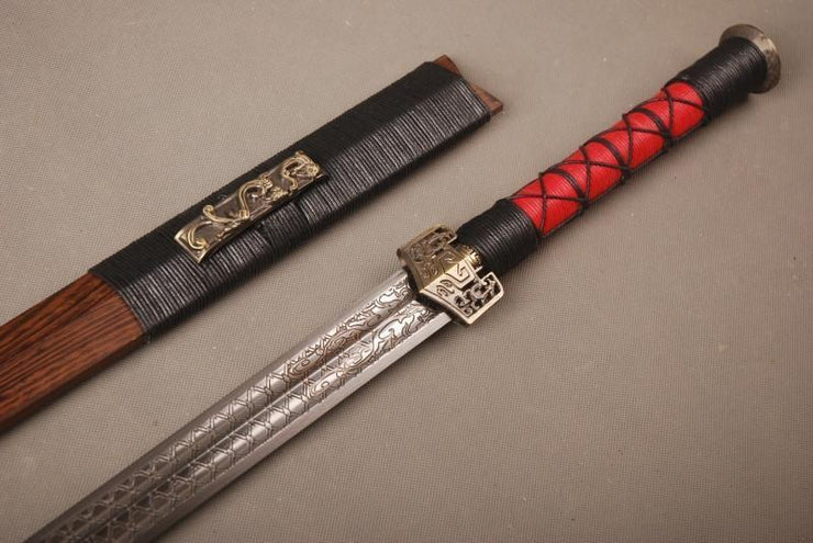 Authentic Han Chinese Jian Sword - BladesPro UK