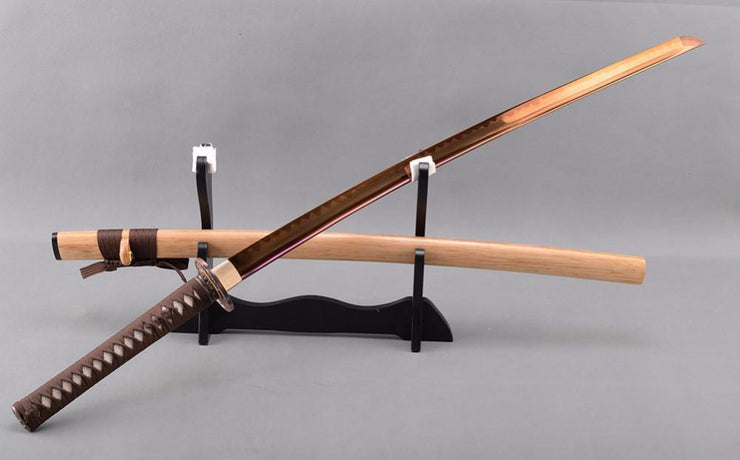 Churai Clay Tempered Steel Katana Samurai Sword