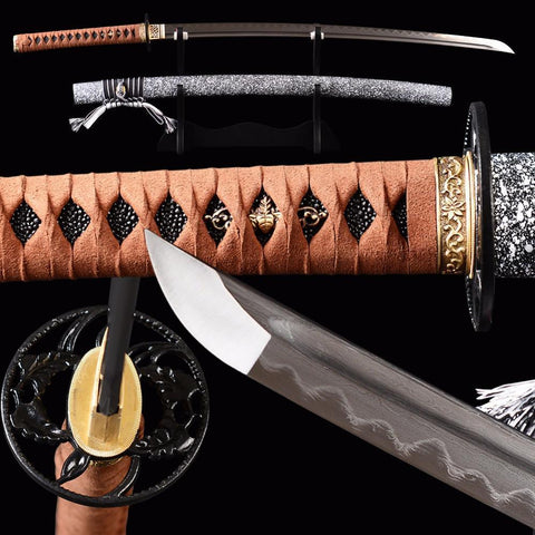 Fuji Clay Tempered Katana Samurai Sword - BladesPro UK