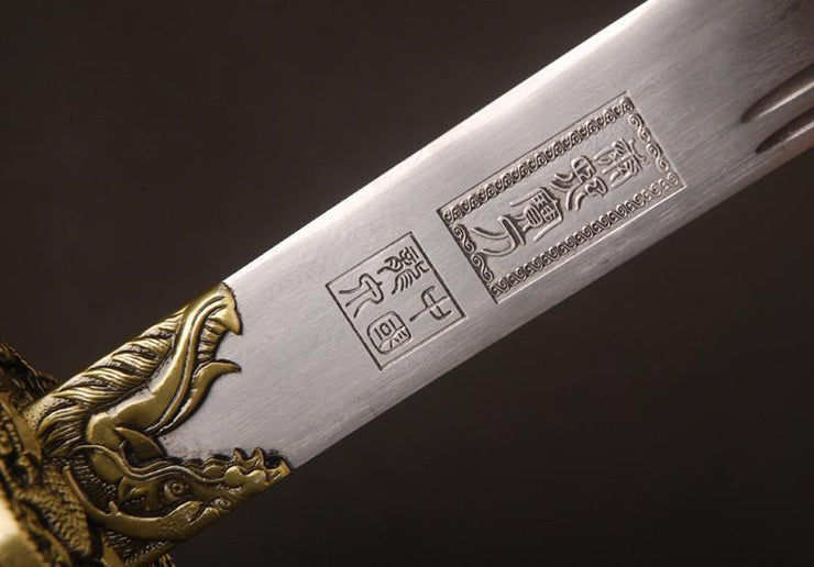 Hand Forged Kangxi Sabre Chinese Sword
