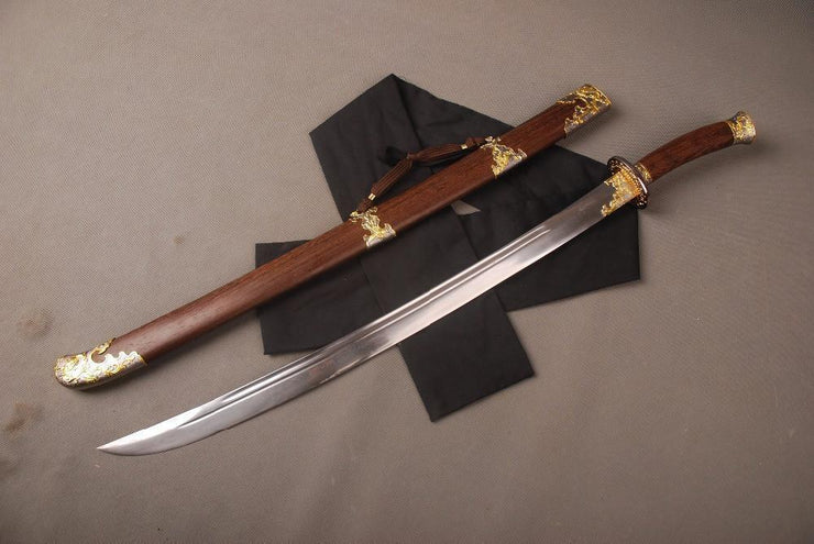 Hand Forged Qing Dynasty Chinese Dao Sword - BladesPro UK