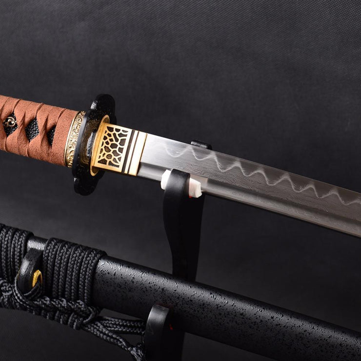 Jintachi Clay Tempered Katana Samurai Sword - BladesPro UK