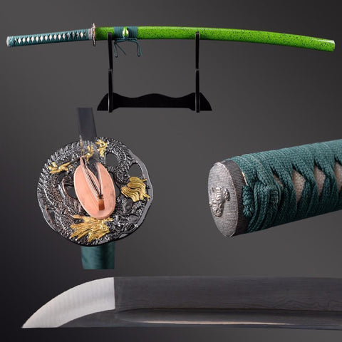Niu Folded Steel Katana Samurai Sword - BladesPro UK