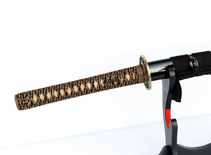 Laika Clay Tempered Carbon Steel Katana Samurai Sword
