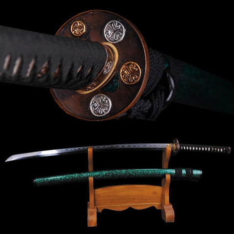 Tombo Folded Steel Katana Samurai Sword - BladesPro UK