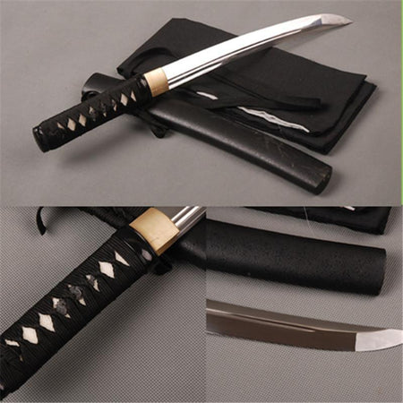 Toshiyuki Carbon Steel Tanto Sword - BladesPro UK