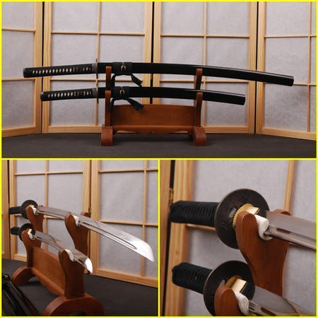 Vadim Carbon Steel Samurai Sword Set - BladesPro UK