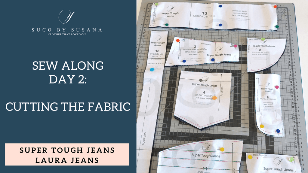 ST Jeans & Laura Jeans Sew Along day 2