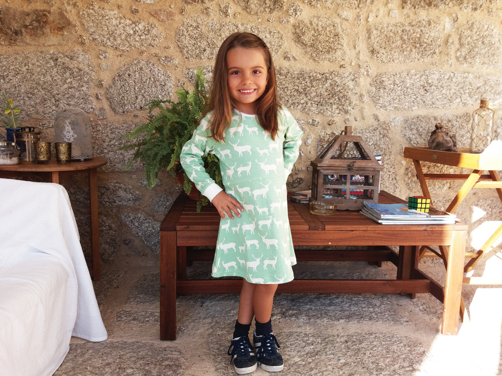 Ana Tee & Dress Sewing pattern / Molde de costura #1