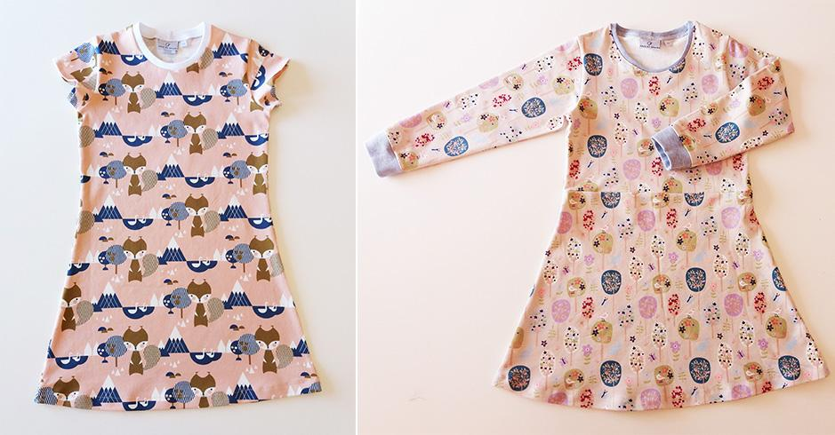 Ana Tee & Dress Sewing pattern / Molde de costura #2
