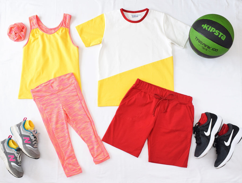 Athletic wear for my kids