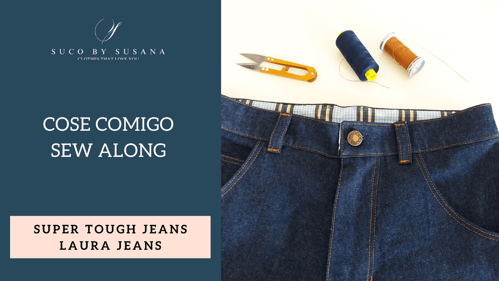 ST Jeans & Laura Jeans Sew Along day 1